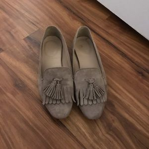 🌙ADORABLE well-loved J. Crew suede loafers🌙